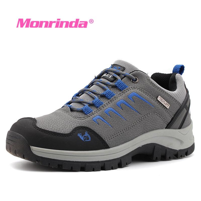 Waterproof Hiking Shoes Women Sneakers Men Trekking Shoes Mountain Climbing Sapatillas Hombre Hunting Boots Anti-Slip Sneaker