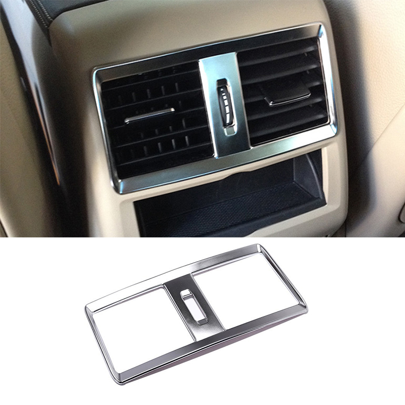 ABS хром кондиционер воздуха на выходе вентиляционное отверстие Накладка для Mercedes Benz GLE GLS 15 17 W164 X164 ML GL 2013 2016