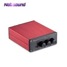 Nobsound Hi Fi 200 Watt TPA3116 Kỹ Thuật Số Khuếch Đại Công Suất Hi Fi Âm Thanh Stereo Amp Với Âm Bass Treble Điều Khiển