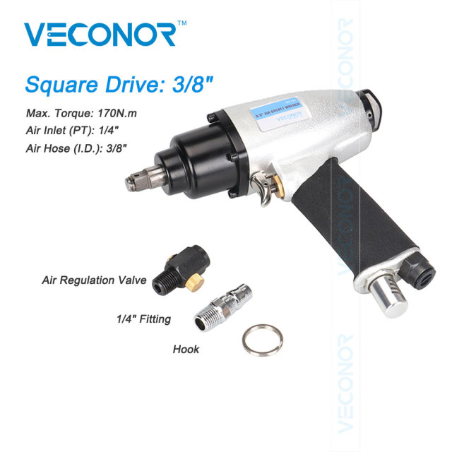 "Veconor 3/8"" Sq. Dr. air impact wrench pneumatic socket wrench power socket tools"