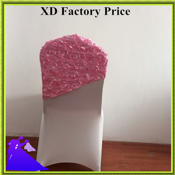 Marious Brand Colorful Multi TOP SALE 50pcs rosette colorful wedding chair hood with nice quality for event free shipping