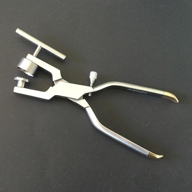 1 Uds. Trituradora de huesos, trituradora de huesos, mortalizador de huesos, Instrumentos dentales de implante Dental de acero inoxidable