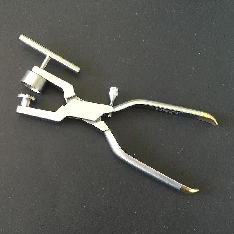 1 pcs Osso Triturador de ossos óssea Moinho Morselizer Implante Dental Instrumentos Odontológicos Em Aço Inox