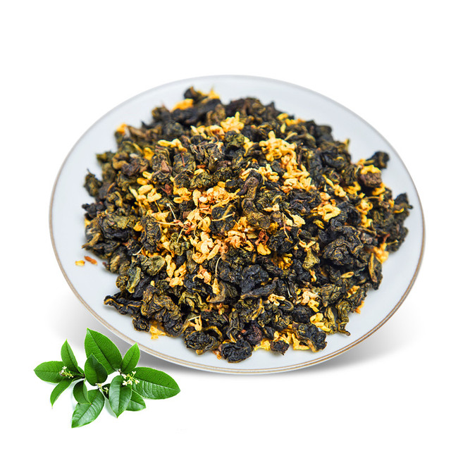 Chinese Anxi Osmanthus Oolong Tea Beauty Weight loss Tea Food Lowering Blood Pressure High Osmanthus Oolong Tea Fresh Green Tea