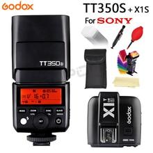Godox Flash TT350 TT350S GN36 2.4G TTL Camera Speedlite for Sony Cameras free shipping+X1T-S Trigger Transmitter +Gift