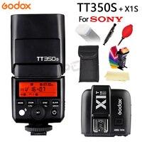 Godox Flash TT350 TT350S GN36 2.4G TTL Camera Flash Speedlite for Sony Cameras free shipping+X1T S Trigger Transmitter +Gift