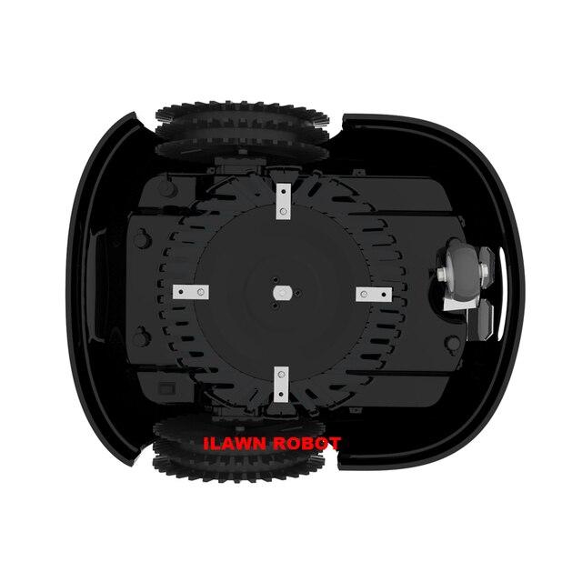 FBA Robot Tondeuse pour grande superficie à vendre E1600T avec 13.2ah Batterie au lithium + 300 m fil + 300 pièces chevilles + 24 pièces lame