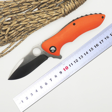 BMT C187 Tactical Ball Bearing Flipper Folding Knife With Rubicon CPM-S30V G10 Handle Knives Camping Survival EDC Outdoor Tools
