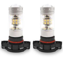 2Pcs H8 H11 LED Bulbs 9006 9005 H10 H16 5202 LED Fog Light Bulb Auto Car Driving DRL Lamp 180W/bulb 360W/pair 6000k White new arrival 2pcs h8 h11 100w 20led hid 2323 fog driving drl light bulbs dr23
