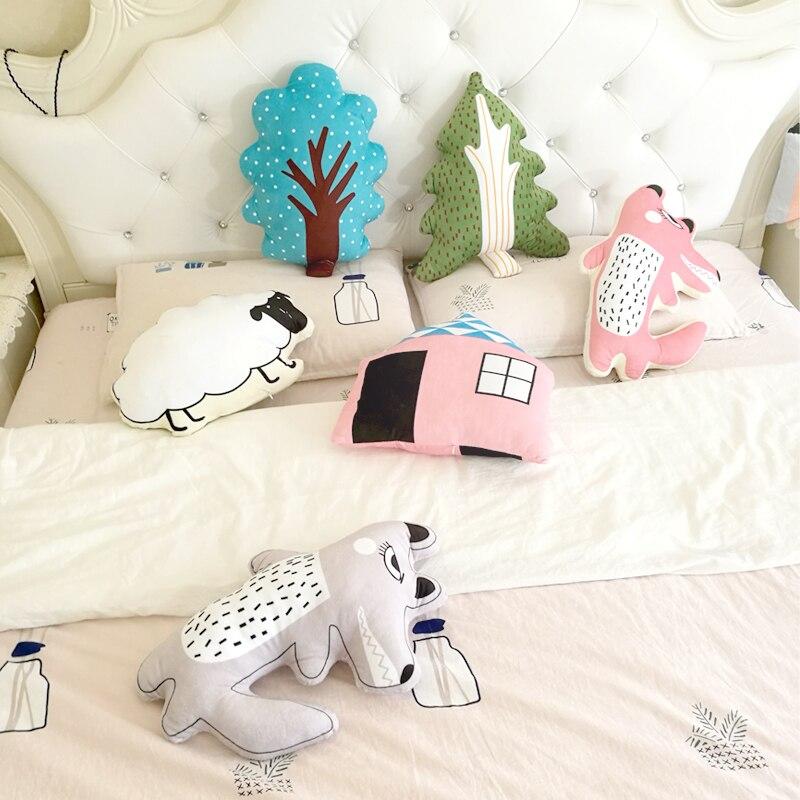 Plüschkissen Ins Mode Liebe Herzförmige Kissen Ausgestopften Herz Spielzeug Stickerei Reisen Zurück Kissen Dekorative Bett Sofa Dekokissen