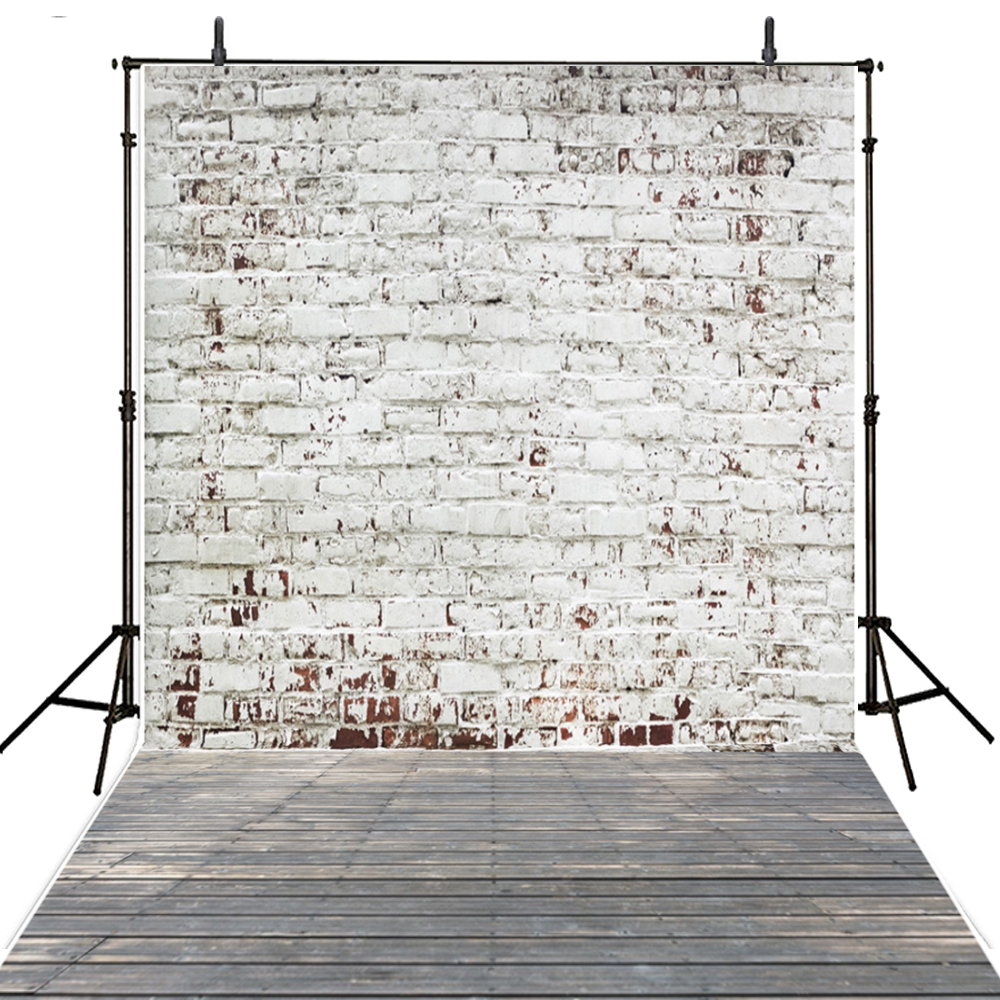 White Photography Backdrops Brick Wall Vinyl Backdrop For Photography Kids Foto Background For Photo Studio Foto Achtergrond