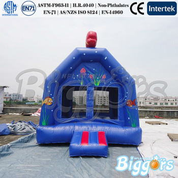 Inflatable Biggors Indoor 4*3*3M Inflatable Bouncer Inflatable Trampoline For Jumping