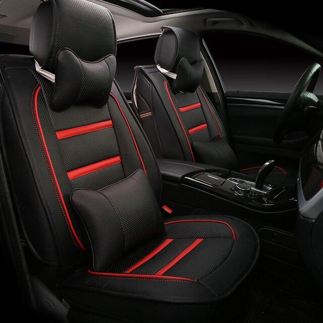 3D для укладки для автомобильных сидений для Volvo C30 S40 S60L V40 V60 XC60 xc90, Высокое супер-волокна кожа, Автомобиль - футляр