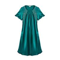 100% Silk Pajama Dress Natural Silk Charmeuse New Excellent High Quality Silk Satin Bath Robe For Women