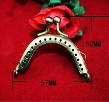 57 мм арки имитация Гула Si объединились кошелек ручной работы DIY аксессуары ретро железа пряжки мешок пряжки