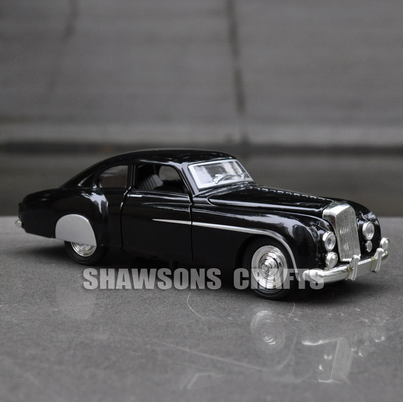 1:28 DIECAST MODEL TOYS VINTAGE CARS PULL BACK BENTLEY R TYPE SOUND ...