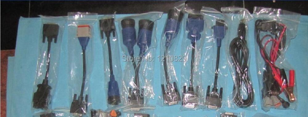 Full Set Cables for NEXIQ 125032 USB Link total 9pcs