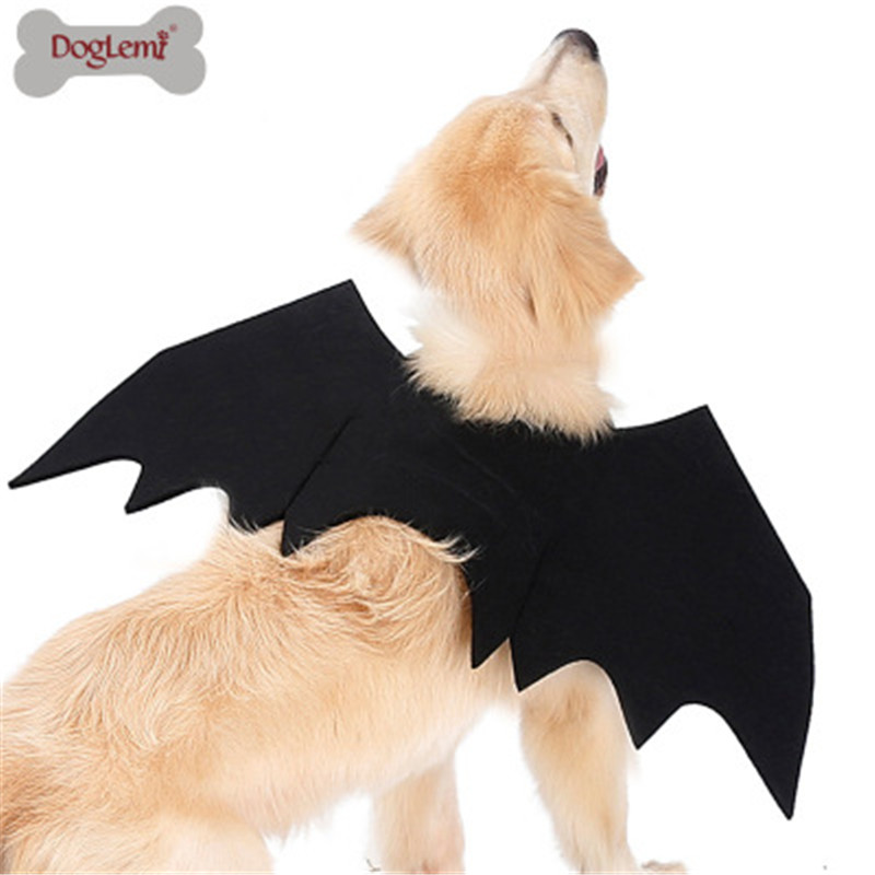 Bat Wings Harness For Cats and Dogs Pet Wear Costume Accessory 2 sizes fnt