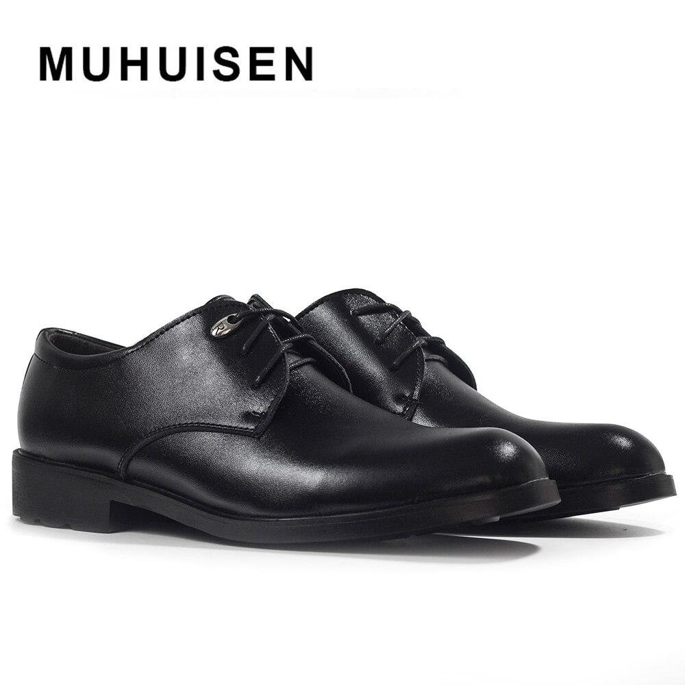 2017 bolsa de Hombre de Cuero Genuino Oxfords zapatos de Hombre Zapatos de Vesti