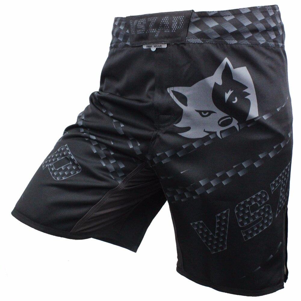 VSZAP Pantalon MMA boksz rövidnadrágok Motion ruházat pamut laza méret edzés kickboxing rövidnadrág muay thai mma rövidnadrág férfi nadrág
