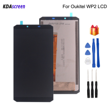 Original 6.0 inch For Oukitel WP2 LCD Display Touch Screen Assembly Phone Parts For Oukitel WP2 Screen LCD Display Free Tools original used oukitel k7000 lcd display screen touch screen frame for oukitel k7000 mtk6737 5 0 hd 1280x720 free shipping