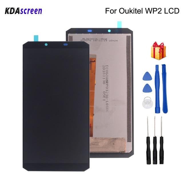 Originale 6.0 pollici Per Oukitel WP2 LCD Display Touch Assemblea di Schermo Parti Del Telefono Per Oukitel WP2 Screen Display LCD di Trasporto strumenti