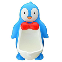 Baby Potty Toilet For Kids Cute Penguin Toilet Trainer Stand Infant Toddler Wall-Mounted Urinals Comfortable Children's Toilet