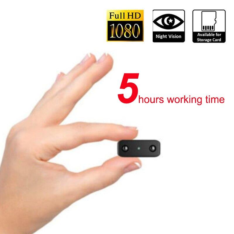 5 ore di lavoro 1080 P Visione Notturna Ad Infrarossi Mini DV Fotocamera Digitale Micro Cam Nanny Camcorder Mini pk SQ8 SQ11