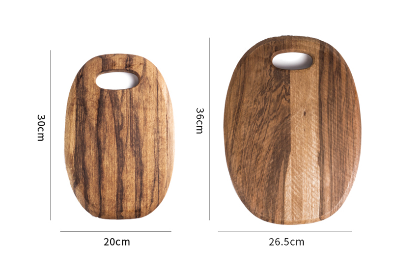 1Pc Kitchen Cutting Board Wood Chopping Blocks Food Serving Plate Wooden Sushi Pizza Bread Tray Wood Cutting Board Kitchen Tools (11)
