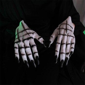 Перчатки вампира для Хэллоуина