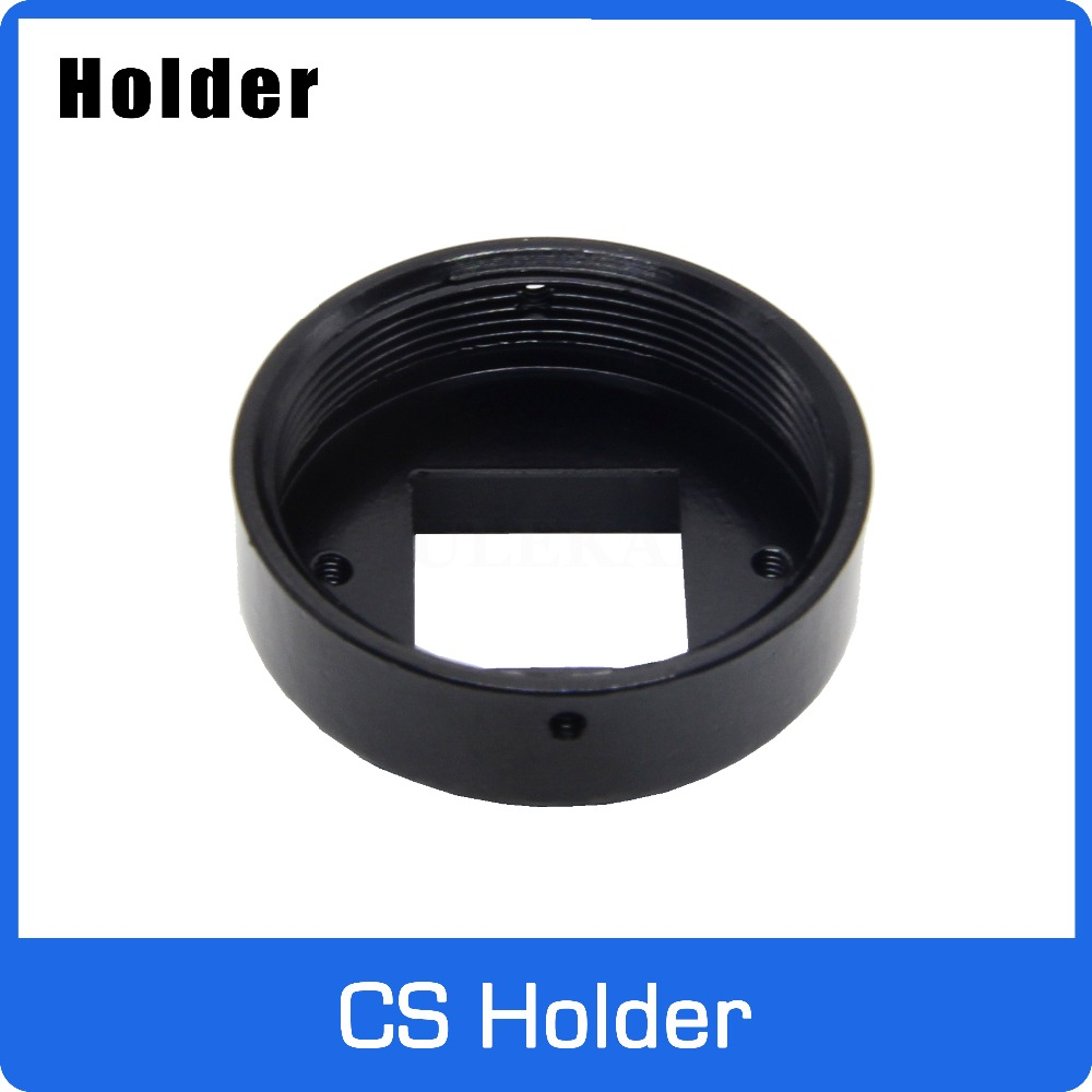 Full Metal CS Mount Holder For CS Lens Support 20mm Hole Distance PCB Board Module Or CCTV Camera