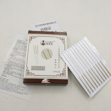 new 100pcs / box Acupuncture Needles Disposable Sterile Chinese Traditional Stainless Steel Material
