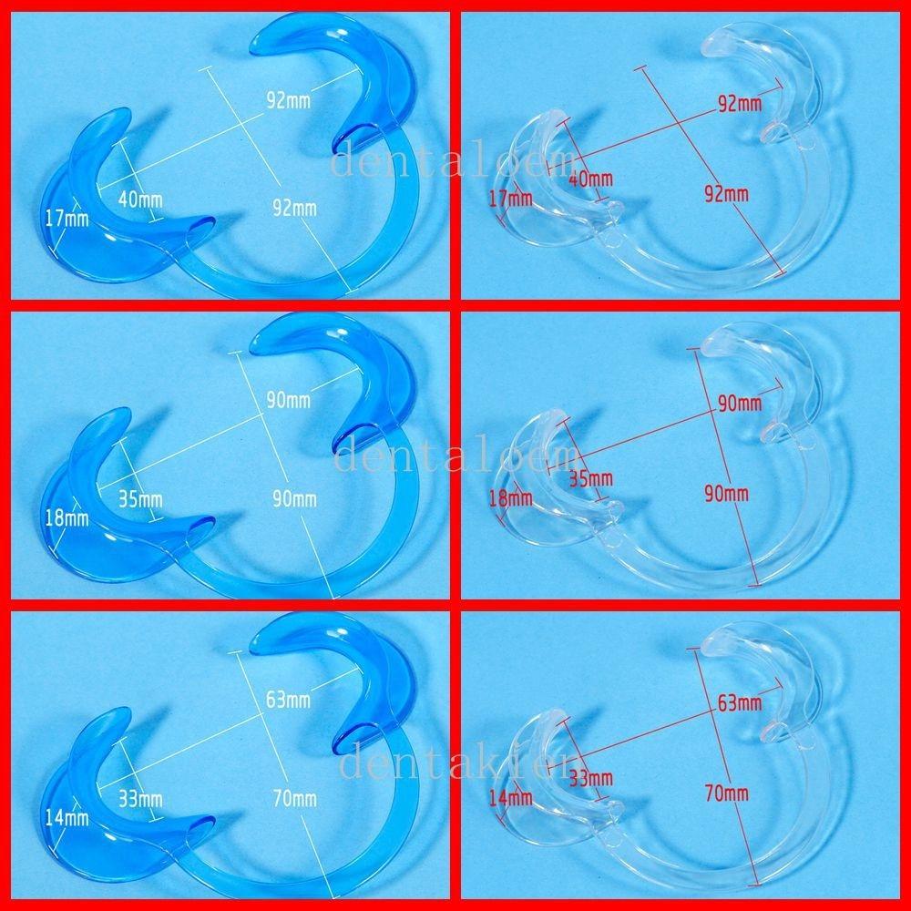 6 vnt dantų skruostų ištraukikliai lūpų burnos atidarytuvas dantų balinimas retraktorius didelis, vidutinis, mažas