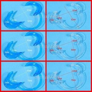 6 Pcs Dental Cheek Retractors Lip Mouth Opener Teeth Whitening Retractor Big,mid,small