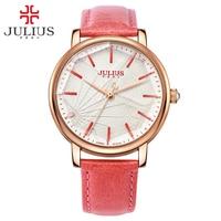 JULIUS Ladies Designer Watches Luxury Watch Women 2018 Pink Quartz Watches For Women Prices Cheap Watches China Dropship JA 888