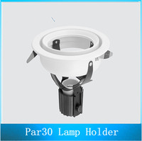 PAR30 Lamp Behuizing E27 Houder Spotlight Beugel LED Spots Frame 10 STKS
