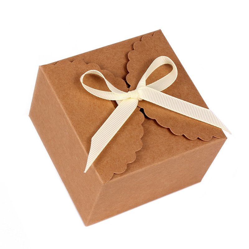 50pcs Personalized Gift Rustic Wedding Cake Box Custom Your Names And Date Favor In Bags Wring Supplies From Home Garden On