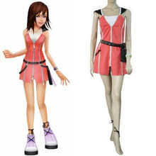 Anime Kingdom Hearts 2 KAIRI Cosplay costume Free Shipping