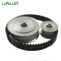 LUPULLEY Timing Belt Pulley 5M Reduction 5 1 60T 12T Shaft Center Distance 80mm Engraving Machine