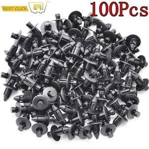Image 1 - 100 шт., автомобильные крепежные заклепки с отверстием диаметром 7 мм