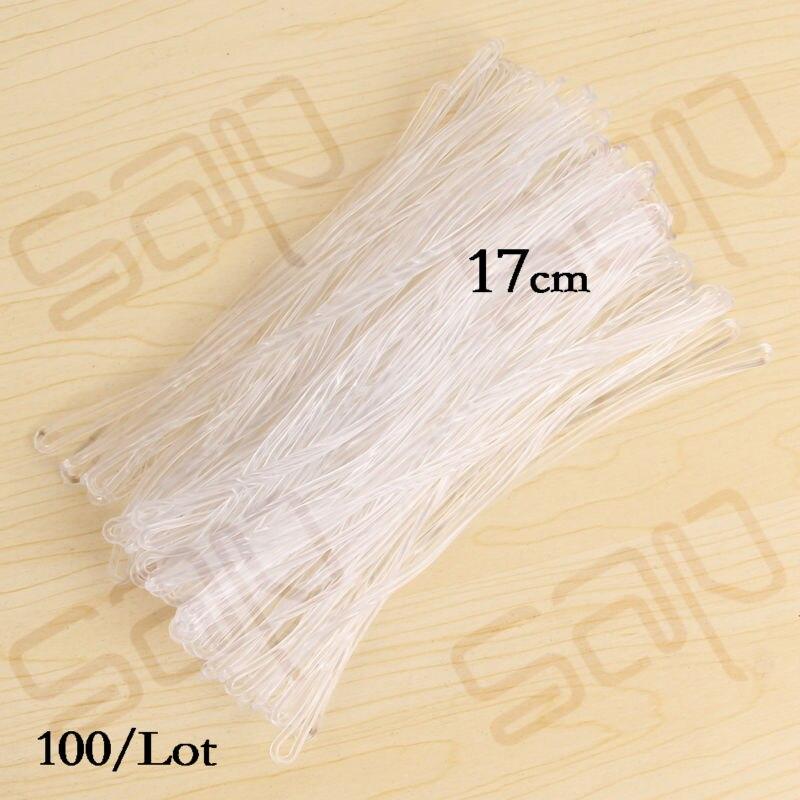 "SAP sturdy and flexible 17cm/7"" Clear Plastic Luggage Tag"