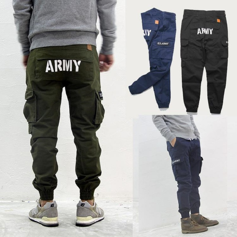These slim fit joggers with functional cargo pockets will add a casual, utilitarian touch to your loungewear. An elastic waist with adjustable drawstring provides the perfect comfort fit.
