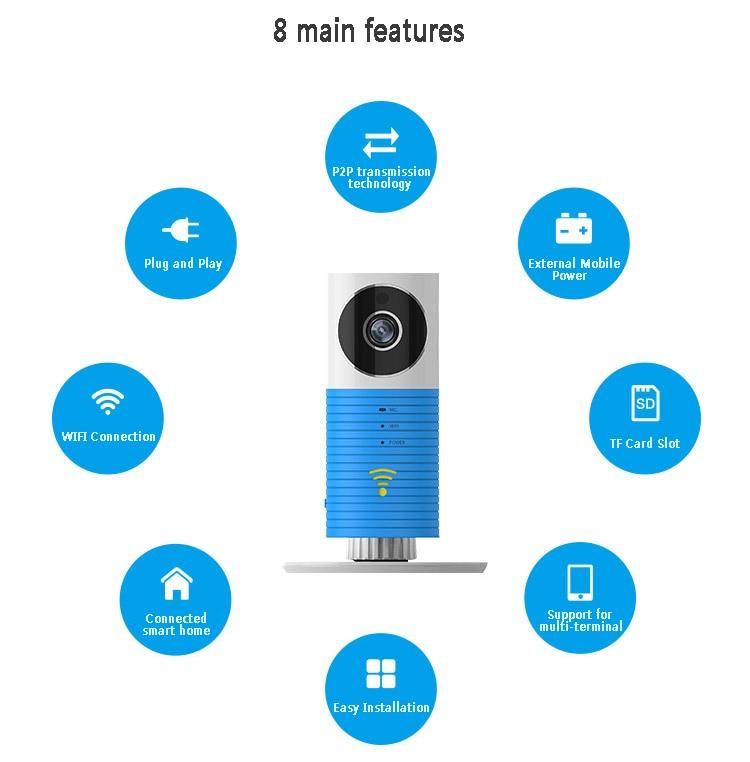 HD 720P P2P Wireless Intercom  Camera Smart Phone Monitoring IP CameraHD 720P P2P Wireless Intercom  Camera Smart Phone Monitoring IP Camera
