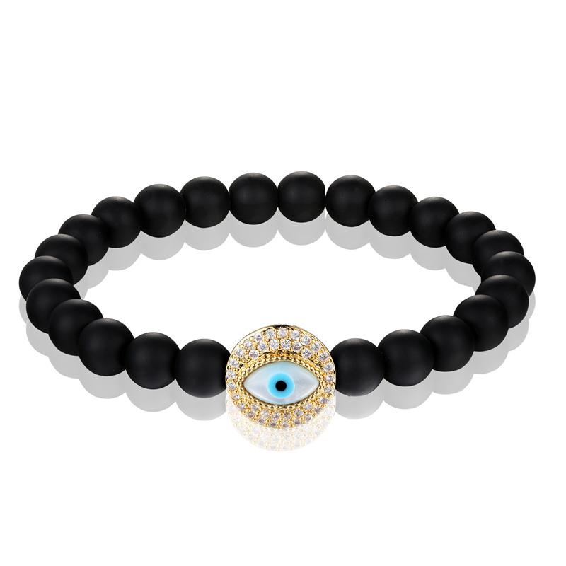 Бренд janeyacy 2018 черный цвет мужской браслет женский из натурального