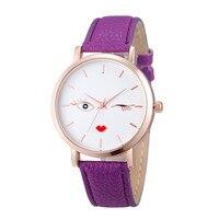 Fashion Horloges Lederen Polshorloge Roestvrij Mannen vrouwen Stalen Analoge Quartz Horloge Armband Beroemde merk Dames Kunstleer 88