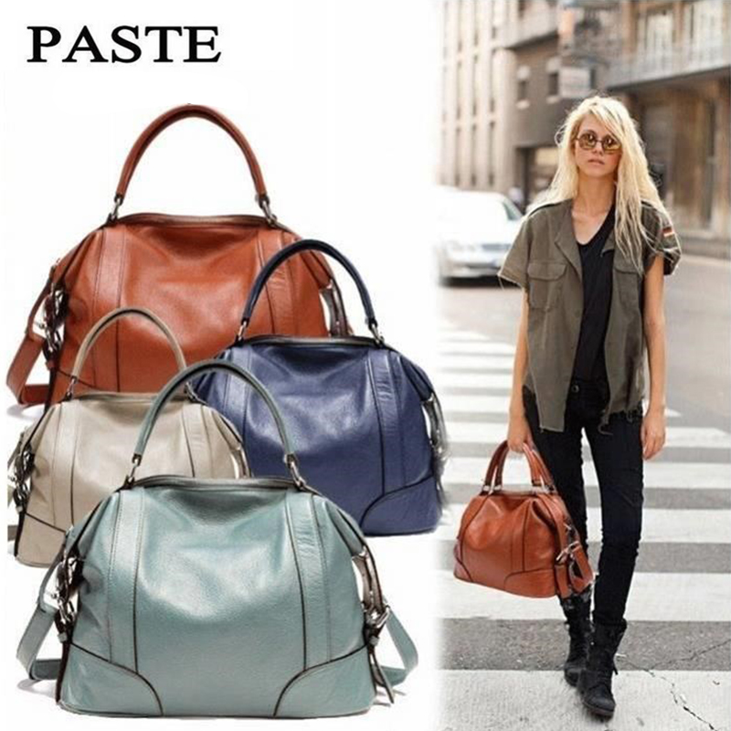 Bags for Women Hot Sale Genuine Leather Handbag Shoulder Bags Casual Women Bag Totes Clutch Female Bag bolsa feminina sac a main nubuck leather shoulder bags for women 2018 fashion handbag vintage crossbody bag motorcycle casual totes bag sac bolsa feminina