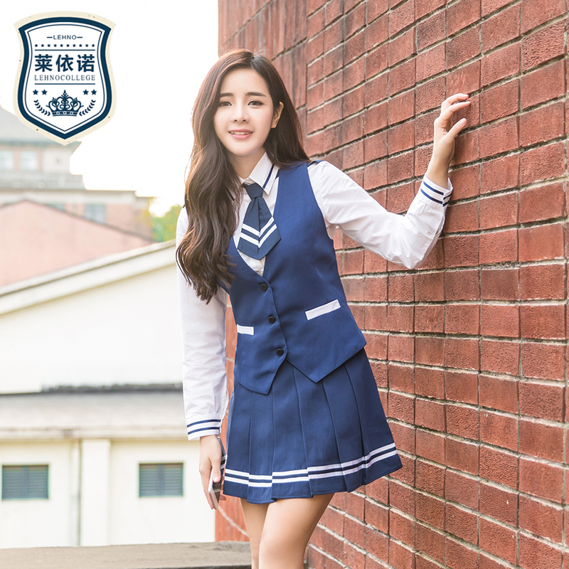 Brand Lehno High Quality Girls School Uniform College -8484