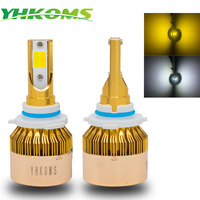 YHKOMS Auto H11 Led Bulbs H7 LED 9005 HB3 9006 HB4 Car Headlights H4 H8 H1