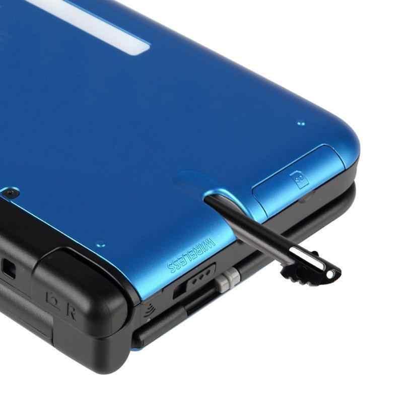 2 unids/lote de plástico negro de pantalla táctil lápiz óptico de 9,5 cm para tableta 3DS XL LL Stylus todos los teléfonos móviles Tablet de alta calidad