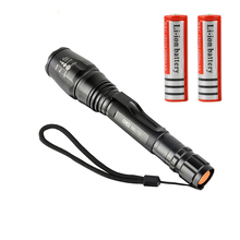 Zoomable LED Flashlight CREE XML T6 Lamp 5 Modes 3800 Lumens Waterproof Torch lanterna led Light